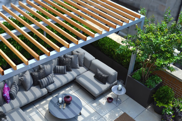 Jeffrey Erb Landscape Design And Garden Design NYC 10036