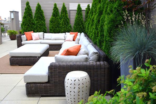 Upper West Side Roof Garden Jeffrey Erb Landscape Design Nyc 10036